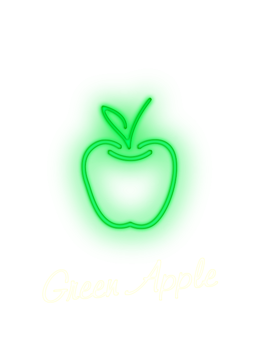 Green Apple Flavored Vape